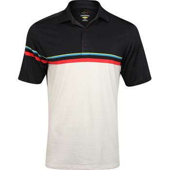 Greg Norman Engineered Stripe Shirt Polo Short Sleeve Apparel