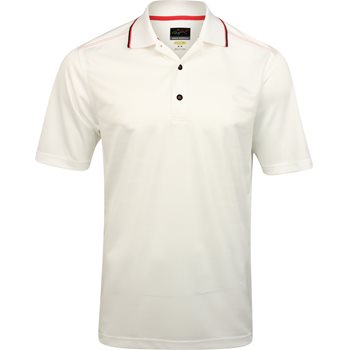 Greg Norman Engineered Textured Stripe Shirt Polo Short Sleeve Apparel