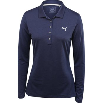 Puma Pounce LS Shirt Polo Long Sleeve Apparel