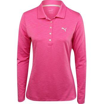 Puma Pounce LS Shirt Polo Long Sleeve Apparel