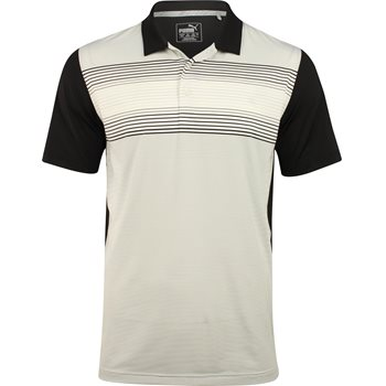 Puma Highlight Stripe Shirt Polo Short Sleeve Apparel