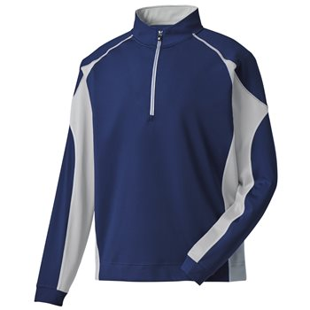 FootJoy Mixed Texture Sport Half-Zip Outerwear Pullover Apparel