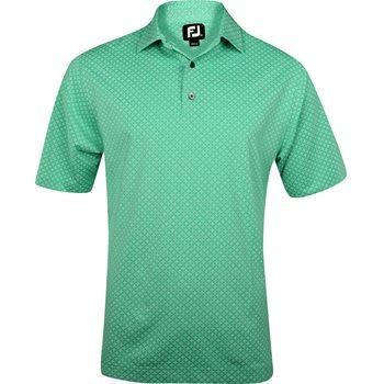 FootJoy Amelia Island Lisle Tie Print Shirt Polo Short Sleeve Apparel