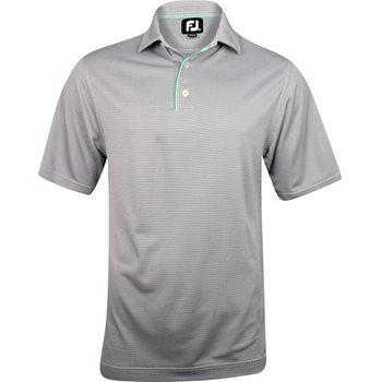 FootJoy Amelia Island Geometric Jacquard Shirt Polo Short Sleeve Apparel