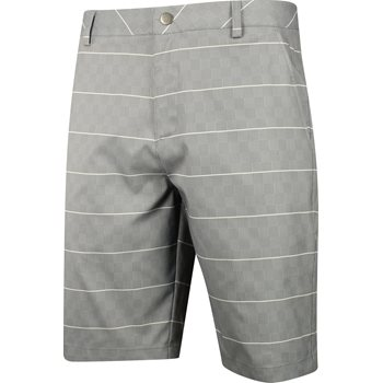 Puma Plaid 2017 Shorts Flat Front Apparel