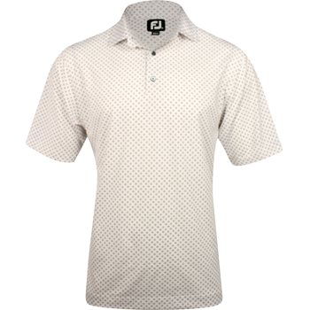 FootJoy Tuscon Lisle Tie Print Shirt Polo Short Sleeve Apparel