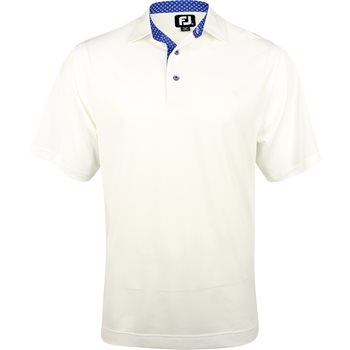 FootJoy Pacific Grove Stretch Pique Solid Shirt Polo Short Sleeve Apparel