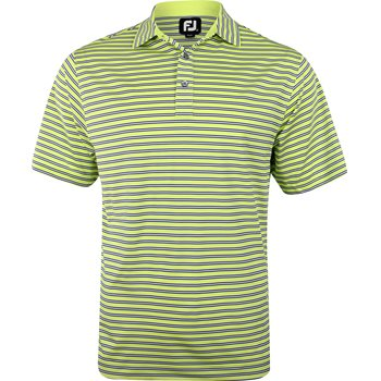 FootJoy Pacific Grove Lisle Multi Stripe Shirt Polo Short Sleeve Apparel
