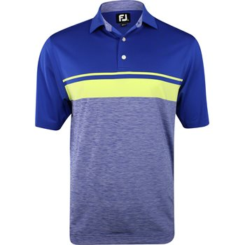 FootJoy Pacific Grove Line Color Block Shirt Polo Short Sleeve Apparel