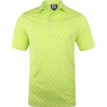 FootJoy Pacific Grove End On End Lisle Print Shirt Polo Short Sleeve Apparel