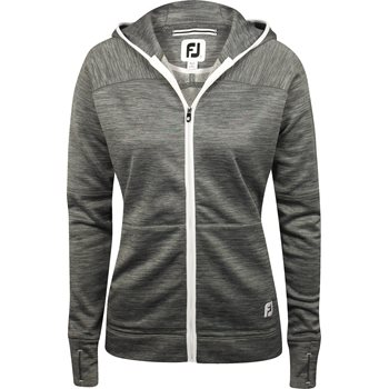 FootJoy Full-Zip Fleece Hoodie Outerwear Wind Jacket Apparel