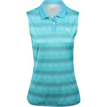 Puma Road Map Sleeveless Shirt Polo Short Sleeve Apparel