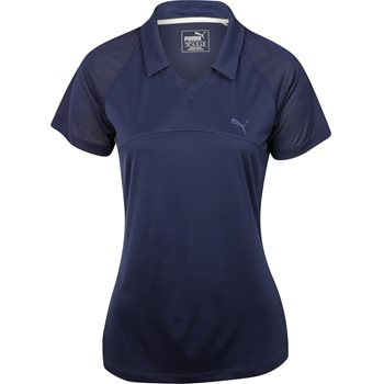 Puma Mesh Shirt Polo Short Sleeve Apparel
