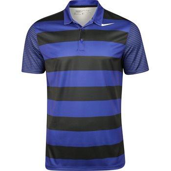 Nike Breathe Bold Stipe Shirt Polo Short Sleeve Apparel