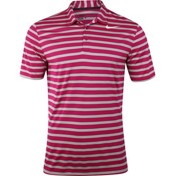 Nike Breathe Stripe Shirt Polo Short Sleeve Apparel