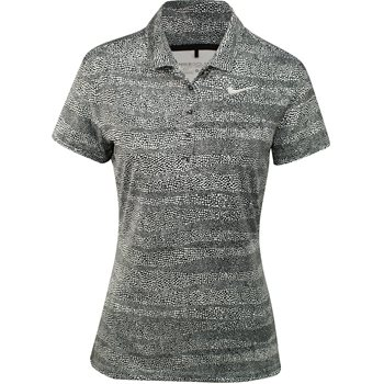 Nike Precision Zebra Print Shirt Polo Short Sleeve Apparel
