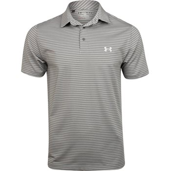 Under Armour UA Heatgear Playoff Stripe Shirt Polo Short Sleeve Apparel