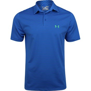 Under Armour UA Heatgear Playoff Stripe Shirt Polo Short Sleeve Apparel