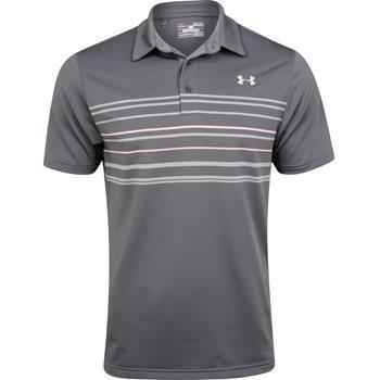 Under Armour UA Heatgear Approach Stripe Shirt Polo Short Sleeve Apparel