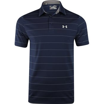 Under Armour UA Heather Playoff Wedge Shirt Polo Short Sleeve Apparel