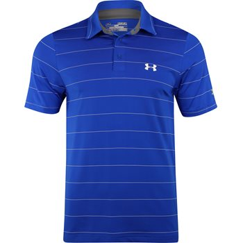 Under Armour UA Heather Playoff Wedge Shirt Polo Short Sleeve Apparel
