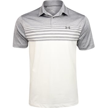 Under Armour UA Coolswitch Upright Stripe Shirt Polo Short Sleeve Apparel