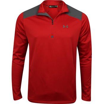 Under Armour UA Coldgear Unite ¼ Zip Fleece Outerwear Pullover Apparel