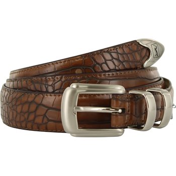 Gem Dandy PGA TOUR 32 MM Tapered Croco Print Accessories Belts Apparel