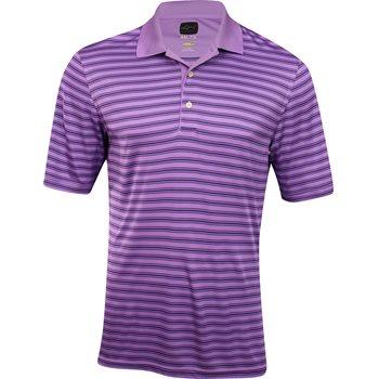 Greg Norman ProTek ML75 Microlux Stripe Shirt Polo Short Sleeve Apparel