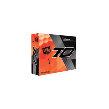 Wilson Staff True Distance Soft Orange Golf Ball Balls