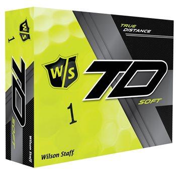Wilson Staff True Distance Soft Yellow Golf Ball Balls
