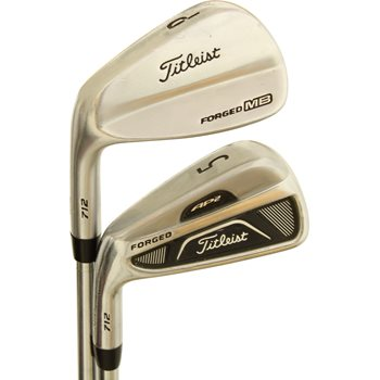 Titleist AP2 712 Forged/MB 712 Forged Combo Iron Set Preowned Golf Club