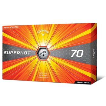 Callaway SuperHot 70 Golf Ball Balls