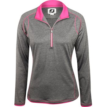 FootJoy Long Sleeve ½ Zip with Faux Layer Outerwear Pullover Apparel