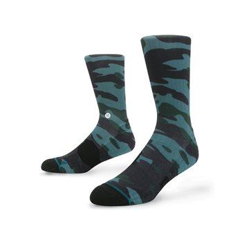 Stance Fusion Bubba Camo Socks Crew Apparel