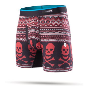 Stance Basilone Valentine Bones Base Layer Boxer Brief Apparel