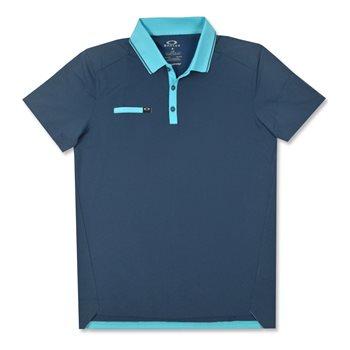 Oakley Hazard Block Shirt Polo Short Sleeve Apparel
