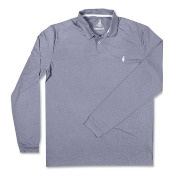 Johnnie-O Porter Ls Shirt Polo Long Sleeve Apparel