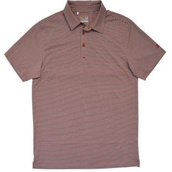 Under Armour Kirby Heather Stripe Shirt Polo Short Sleeve Apparel