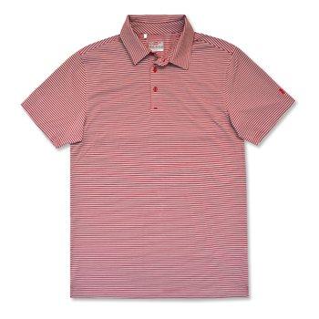 Under Armour Kirkby Heather Stripe Shirt Polo Short Sleeve Apparel