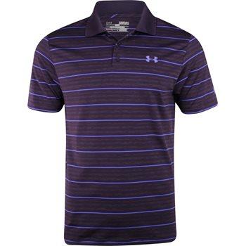 Under Armour UA Heatgear Fore Heather Stripe Shirt Polo Short Sleeve Apparel