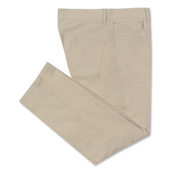 Johnnie-O Cal Straight Leg Twill Pants Flat Front Apparel