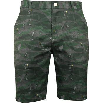 Puma Flagstick Camo Shorts Flat Front Apparel