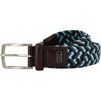 Greg Norman Multi-Color Braided Stretch Accessories Belts Apparel