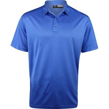 Callaway Opti-Dri Jacquard Shirt Polo Short Sleeve Apparel