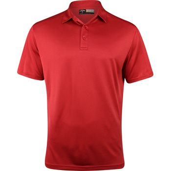 Callaway Opti-Dri Jacquard Shirt Polo Short Sleeve Apparel