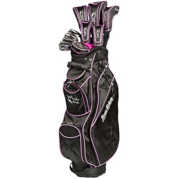 Tour Edge Moda Silk Black/Hot Pink Club Set Golf Club
