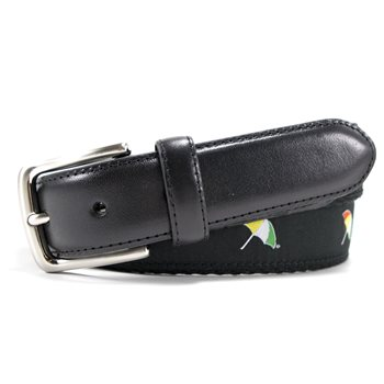 Arnold Palmer Umbrella Embroidered Web Accessories Belts Apparel