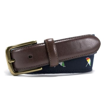 Arnold Palmer Umbrella Embroidered Web Accessories Belts Apparel