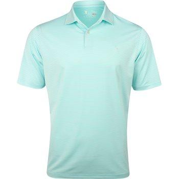 Fairway & Greene USA Owens Stripe Tech Shirt Polo Short Sleeve Apparel